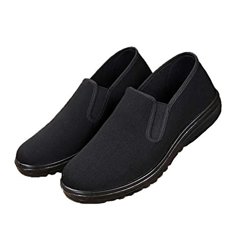 JJK Zapatos De Kung Fu De Los Hombres, Artes Marciales Chinas Tradicionales Zapatillas Zapatos Casual Cómodo Y Ligero,44