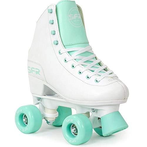 Sfr Skates Skates Skates Skates Skates Unisex Erwachsene, Unisex, SFR050, Mehrfarbig (Weiß/Grün), 39.5