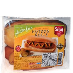 Schar Gluten Free Hot Dog Rolls, 8 Oz Pack (Case of 6) [Misc.]