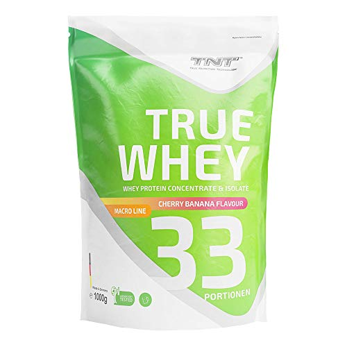 True Whey – 1kg Whey Protein Isolate Pulver –...