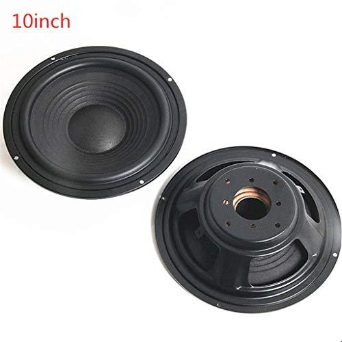 huiingwen 2PCS 8/10 Zoll Schraubengewinde Muster Tieftöner, Lautsprecher Passiver Kühler Booster Bass Vibrationsplatte Vibrationslautsprecher Zubehör