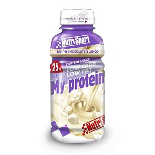 Nutrisport My Protein 330 Ml 12 Botellas Choco Blanco 330 ml