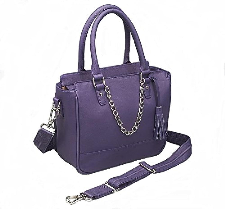 GTM Conceal Carry Park Avenue Tote, Purple