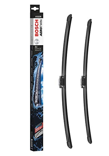 Tergicristalli Bosch Aerotwin A112S, Lunghezza: 575mm/530mm – 1 set per parabrezza (anteriore)