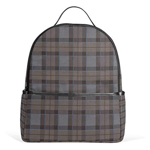 Fraser Jagdrucksack, Schottenkaro, groß, für Herren und Damen, Rucksack, für College, Teenager, Reisetaschen