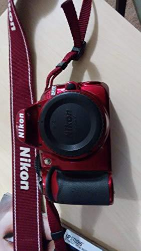 Nikon D3100 Digital SLR Camera Body (Red) (Renewed)