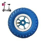 Neumáticos, Neumáticos para patinetes eléctricos, Ruedas neumáticas de 8 Pulgadas 200X50, Neumáticos Antideslizantes Resistentes al Desgaste, Diámetro Interior del cojinete Opcional, Apto para Patine