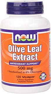 Now Foods - Olive Leaf Ext 500 mg 120 Cap