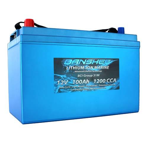 Banshee Deep Cycle Lithium-Ion Marine Battery