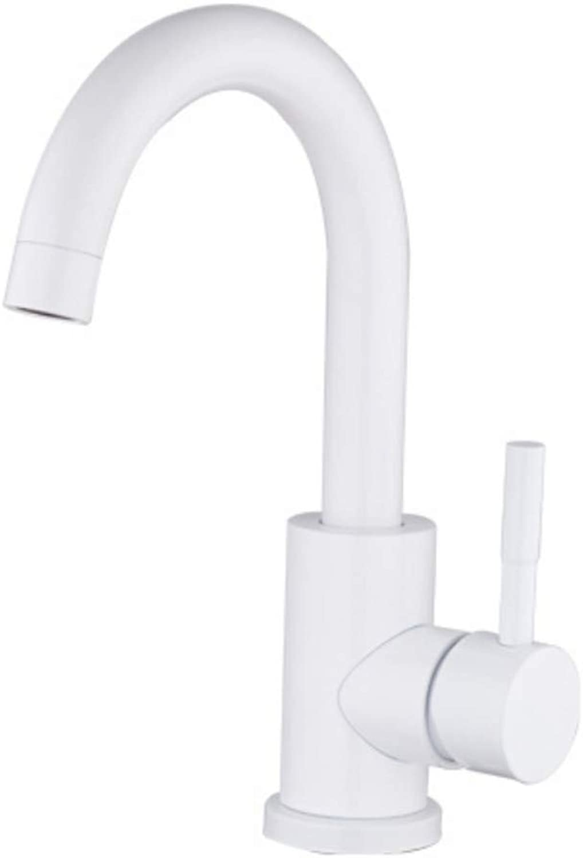 Mzdpp High Quality Bathroom Faucet Spary Paint Basin Faucet Waterfall Basin Mixer Tap Do,B