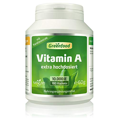 Greenfood Natural Products -  Vitamin A, 10000 iE,