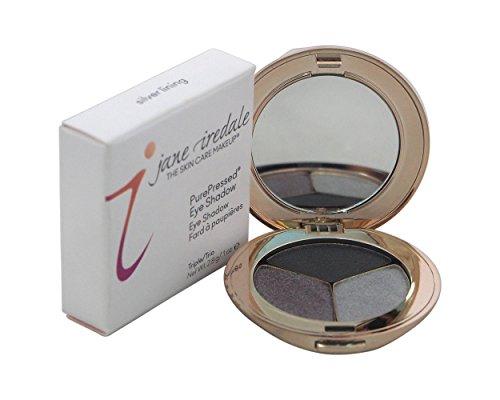 Jane Iredale PurePressed Eye Shadow Triple - Silver Lining (Shimmer),