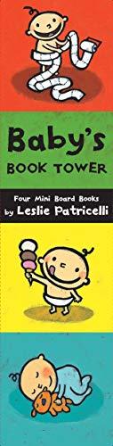 Baby's Book Tower: Four Mini Board Books (Leslie Patricelli Board Books)