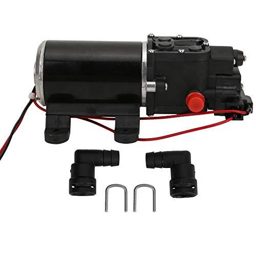 Leyeet Bomba de diafragma a presión de agua, micro alta presión, 12 V, 1,3 l/min, apta para caravanas marinas y aplicaciones agrícolas
