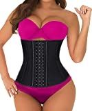 SHAPERX Women's Sports Latex Waist Trainer Corsets Cincher Weight Loss Hourglass Shaper Girdle