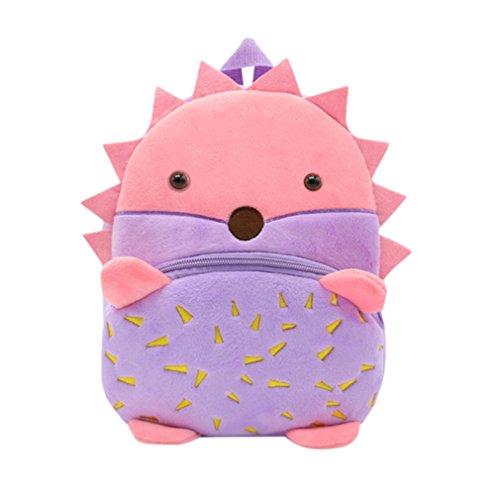 Trada Mochila niños pequeños, para bebés, niñas, niños, Animales, Animales, Dibujos Animados, Mochila, Mochila Escolar, Mini Bolso para bebés de 1 a 3 años E M
