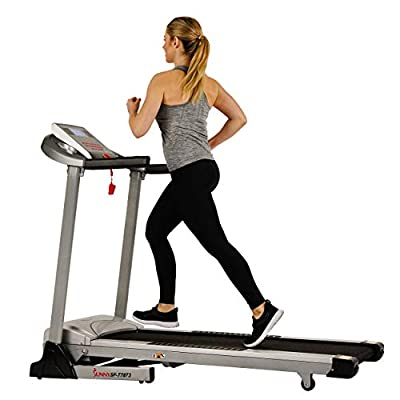 Sunny Health & Fitness Electric Folding Treadmill