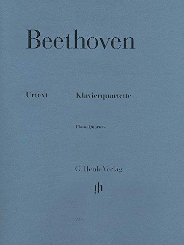 Klavierquartette. Violine, Viola, Violoncello, Klavier