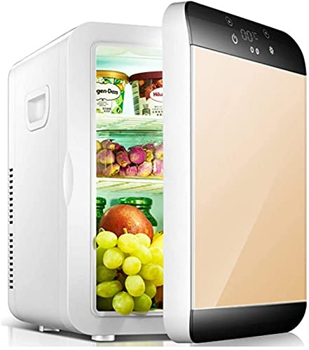 FDGSD Refrigerador de 12L, Mini refrigerador portátil de enfriamiento y calefacción eléctrico para automóviles y Uso doméstico, C