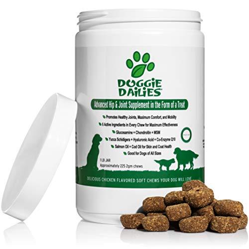 ارخص مكان يبيع Doggie Dailies Glucosamine للكلاب: 225 Soft Chews