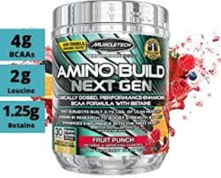 Amino Build NEXT GEN muscletech 30 servicios