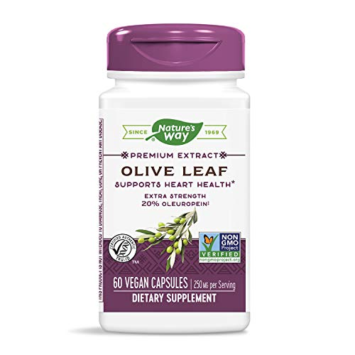 Nature\'s Way, Olive Leaf Standardisierte, 60 Vcaps