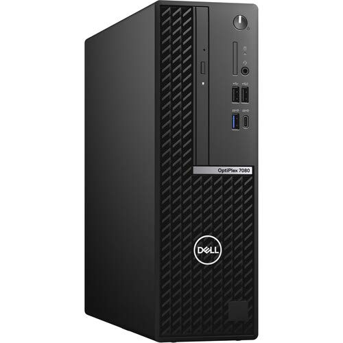 Dell OptiPlex 7080 SFF Desktop Computer - Intel Core i7-10700 - 16GB RAM - 256GB M.2 SSD - Small Form Factor