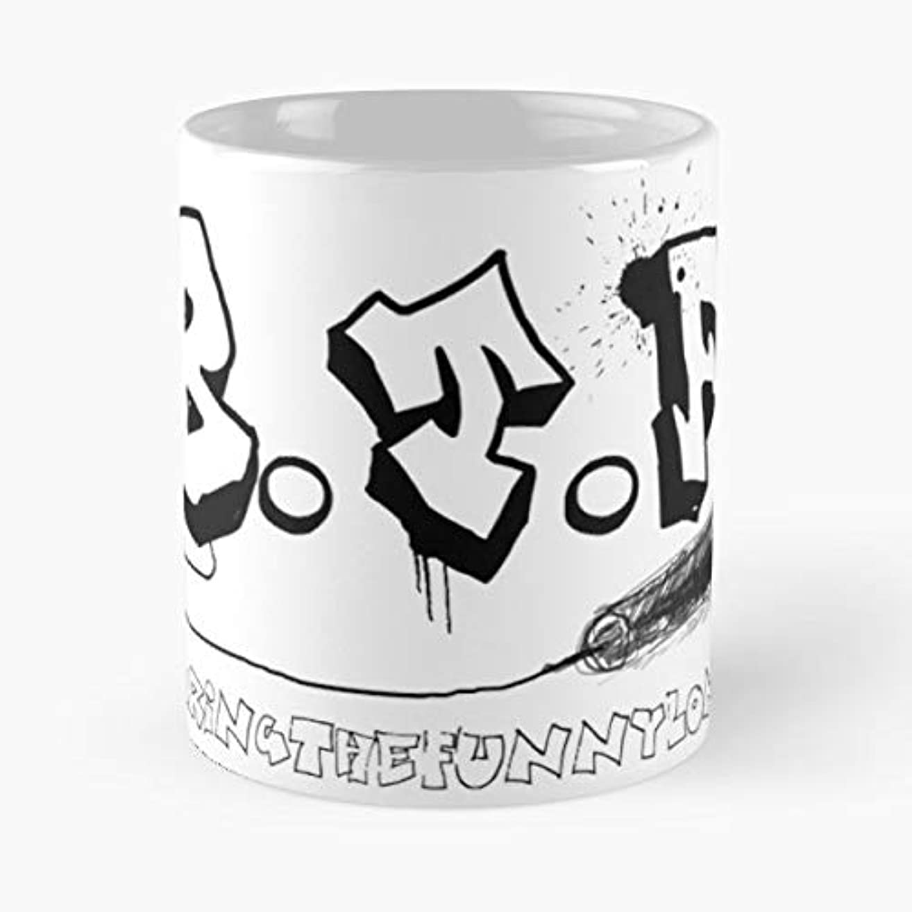Bring The Funny Comedy London - Coffee Mug-11 Oz,white Unique Birthday Gift-the Best Gift For Holidays.