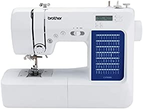 Brother CS7000X Computerized Sewing and Quilting Machine, 70 Built-in Stitches, LCD Display, Wide Table, 10 Included Feet, White