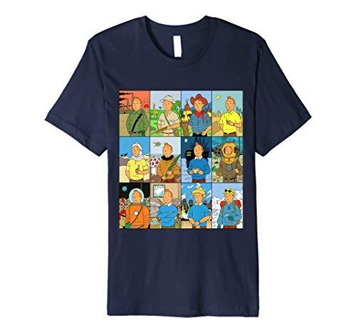 Adventures 1 - Tin Tin Premium T-Shirt