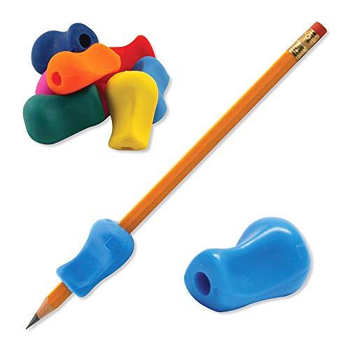 5 pezzi, correttori per scrittura a mano per bambini, per penna, matita, impugnatura in silicone per aiutare i bambini nella scrittura