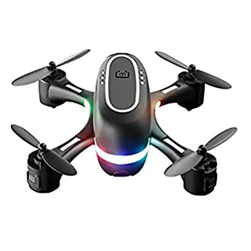 YueWan Mini Telecomando Drone LED Luce RC Quadcopter Alta Definizione Dual Lens RC Drone