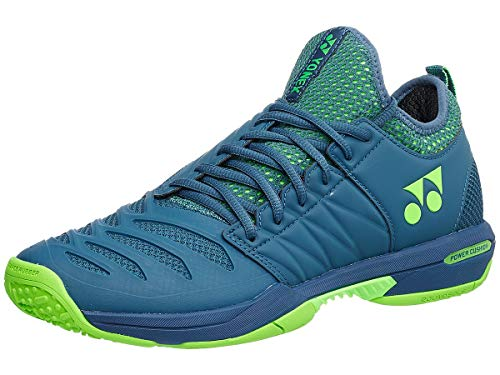YONEX Power Cushion Fusion Rev 3 Men's Clay Court Tennis Shoe Blue Size: 5 UK