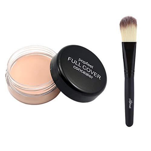 Nourich Palette Correcteur,Imperméable Maquillage de Crème Correcteur de longue durée anti-cernes Haute couvrance concealer lissant anti-poches antirides tous types de cernes Correcteur (01#)