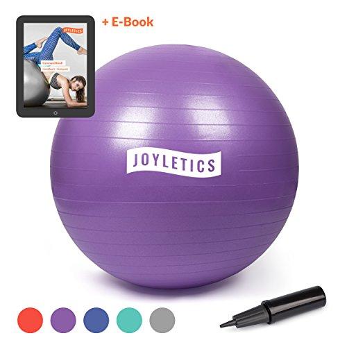 Joyletics® Gymnastikball »M«   Sitzball und Fitnessball für EIN entlastendes Sitzen und vielfältiges Ganzkörpertraining   Gymnastik-Ball Durchmesser 75 cm, lila