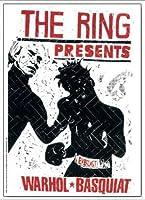 ポスター トーマス キルパー THE RING ウォーホル&バスキア 2000 額装品 アルミ製ベーシックフレーム(ホワイト)
