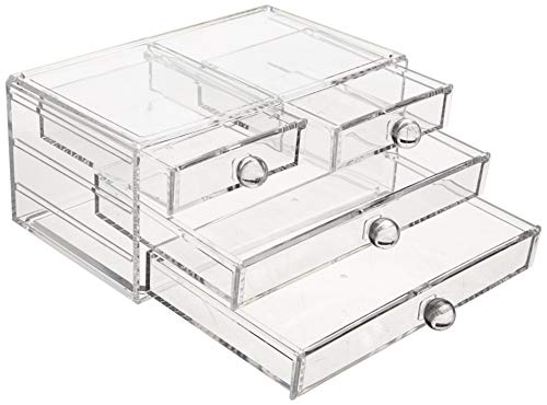 Amazon Basics 4-Drawer Acrylic Beauty Organizer