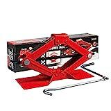 BIG RED T10152 Torin Steel Scissor Lift Jack Car Kit, 1.5 Ton (3,000...