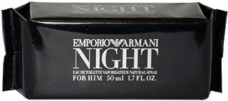 Emporio Armani Night By Giorgio Armani For Men. Eau De Toilette Spray 1.7 Ounces