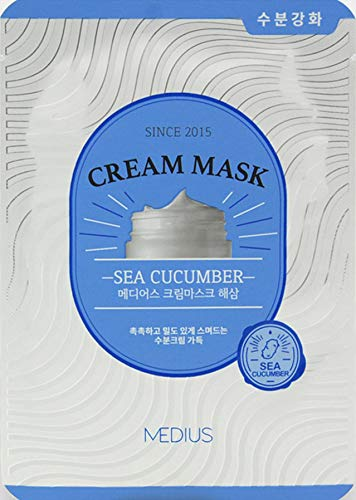 MEDIUS K-Beauty Cream Masque Sea Cucumber 25 ml 5 Pièces
