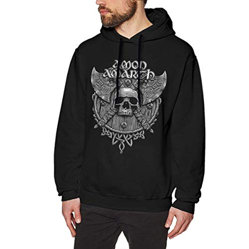 DDECD Herren Hoodie Kapuzenpullover Amon Amarth Man's Hoodie Sweater Fashion Classic Long Sleeve Top Hoodies Hooded Sweatshirt
