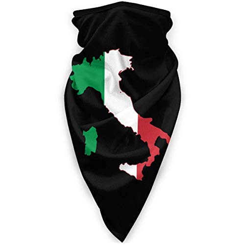 YYTT8 Gesichtsschutz Mundschutz Italia Italien Italienische Flagge Logo Nahtlose Bandanas