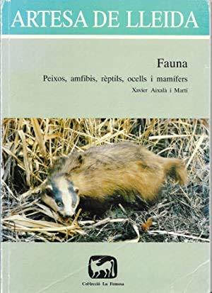 ARTESA DE LLEIDA Fauna