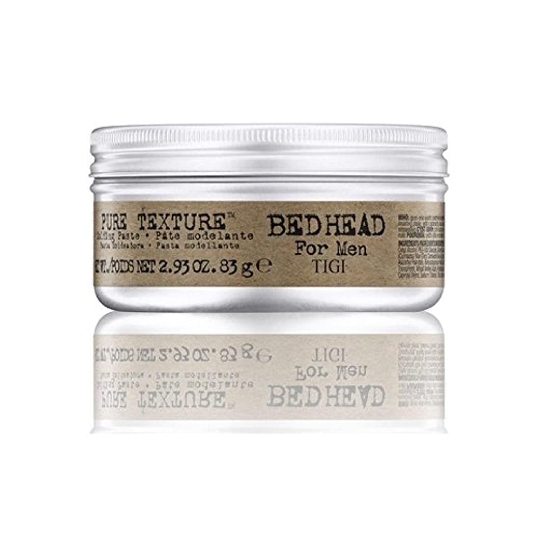 スイ電気陽性遮るTigi Bed Head For Men Pure Texture Molding Paste (83G) - 男性の純粋なテクスチャーモールディングペースト(83グラム)のためのティジーベッドヘッド [並行輸入品]