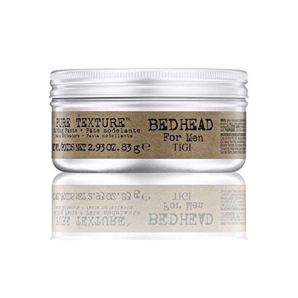 アカデミー痴漢正しいTigi Bed Head For Men Pure Texture Molding Paste (83G) (Pack of 6) - 男性の純粋なテクスチャーモールディングペースト(83グラム)のためのティジーベッドヘッド x6 [並行輸入品]