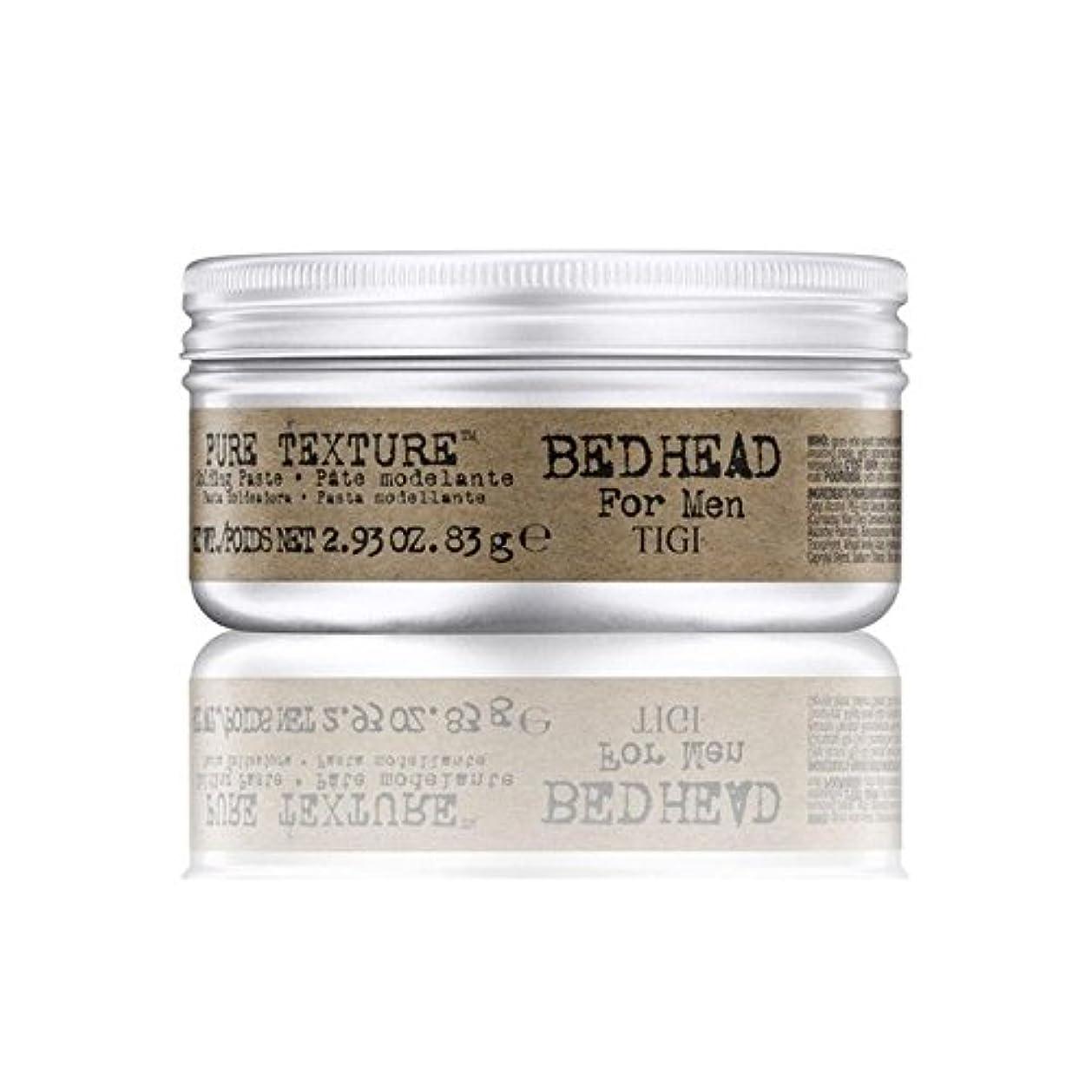 破滅資格蜂Tigi Bed Head For Men Pure Texture Molding Paste (83G) - 男性の純粋なテクスチャーモールディングペースト(83グラム)のためのティジーベッドヘッド [並行輸入品]
