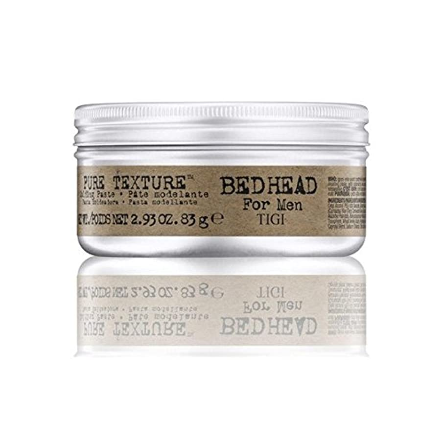 治療寝てる治療Tigi Bed Head For Men Pure Texture Molding Paste (83G) - 男性の純粋なテクスチャーモールディングペースト(83グラム)のためのティジーベッドヘッド [並行輸入品]