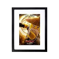 壁アート画像の装飾 壁掛けアート アート レゴニンジャゴムービー(8) 映画ポスタ-ハンギングペインティング-黒の木製フレーム(額縁を送る) - オフィスデコレーション - アルデコポスター、サイズ40x30cm