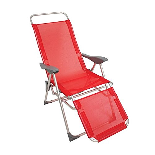 Randoneo Vector Fauteuil inclinable Rouge