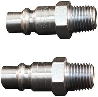 Milton Industries S-1839 Compression Plug, H-Style, Male, 1/4-In, 2-Pk. - Quantity 10